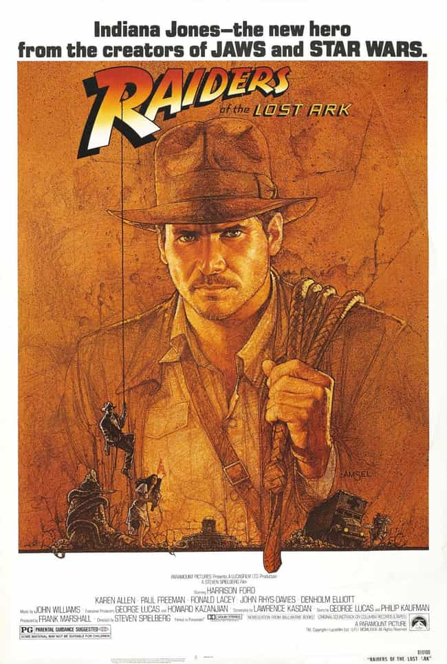 Indiana Jones and the Ra... is listed (or ranked) 2 on the list The Best Movies (and Series) in the Indiana Jones Franchise, Ranked