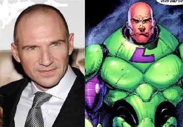 Ralph Fiennes is listed (or ranked) 2 on the list Actors Who Almost Got the Part in a DC Film
