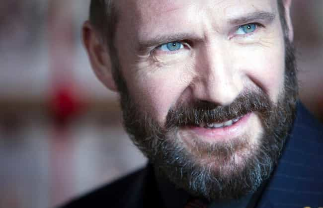 Ralph Fiennes is listed (or ranked) 4 on the list The Most Captivating Celebrity Eyes (Men)