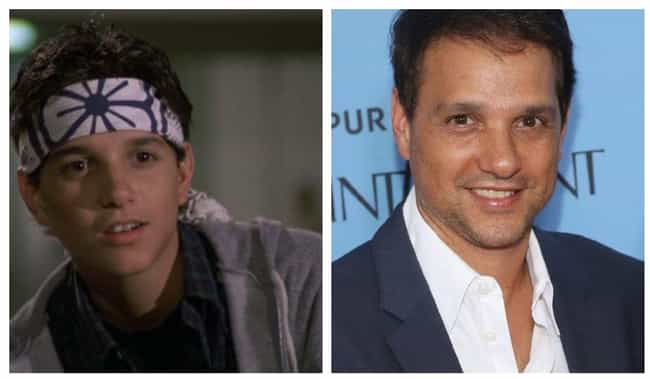 Ralph Macchio is listed (or ranked) 3 on the list 12 One-Hit Wonder Actors Who Got A Big Break But Went Back To Not Doing Much