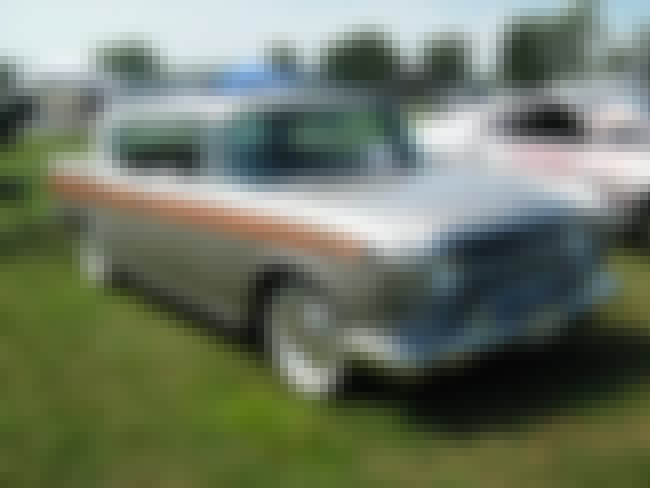 Rambler Rebel is listed (or ranked) 8 on the list Full List of American Motors Models