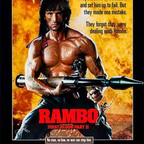 Rambo: First Blood Part II is listed (or ranked) 22 on the list The Best Action Movies of the 1980s