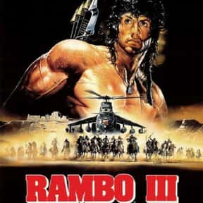 Rambo III is listed (or ranked) 14 on the list The Best Sylvester Stallone Movies