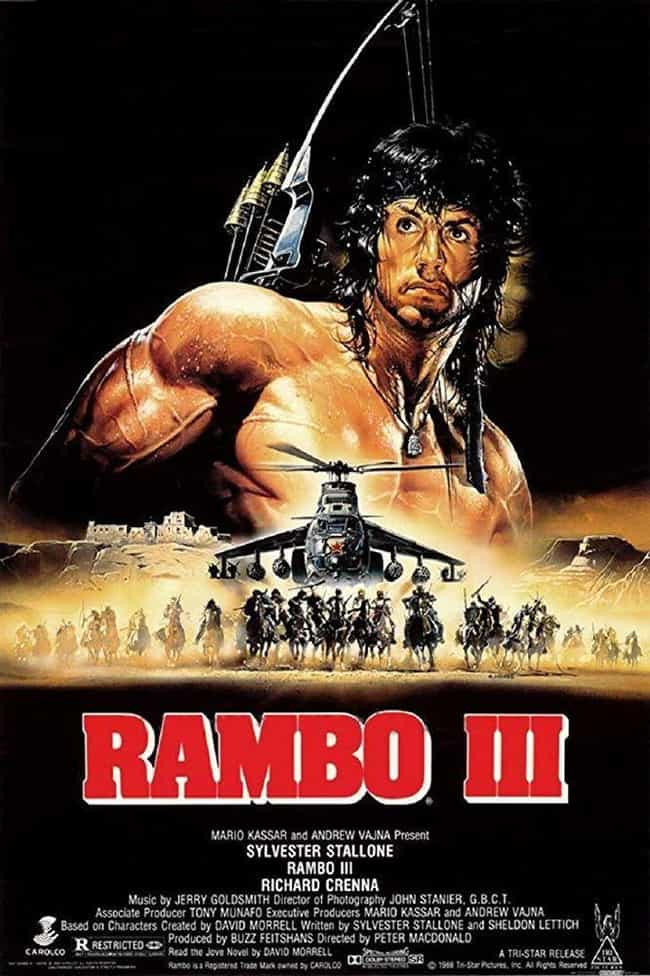 Rambo III is listed (or ranked) 4 on the list The Best Movies In The 'Rambo' Franchise