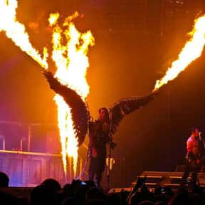 Rammstein is listed (or ranked) 2 on the list The Best Industrial Rock Bands