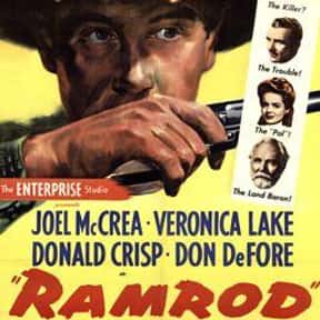 Ramrod is listed (or ranked) 14 on the list The Best 1940s Western Movies