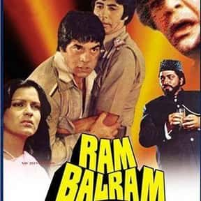 Ram Balram is listed (or ranked) 22 on the list The Best Amitabh Bachchan Movies