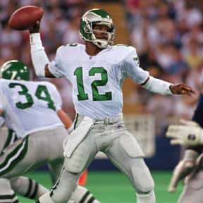 Randall Cunningham is listed (or ranked) 24 on the list People Who Should Be in the Pro Football Hall of Fame