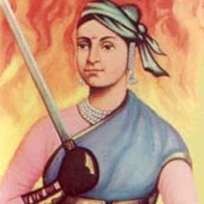 Rani Lakshmibai is listed (or ranked) 9 on the list Freedom Fighters of India