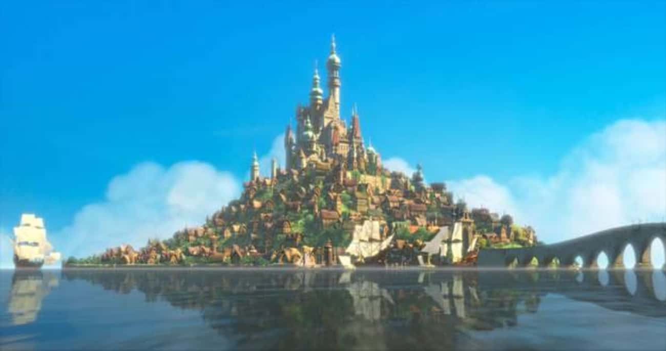 Tangled is listed (or ranked) 3 on the list The Best Castles in Disney Animated Films