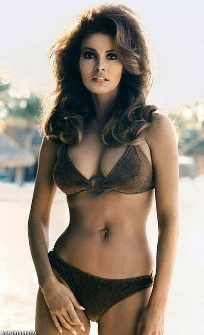 Raquel Welch is listed (or ranked) 1 on the list The Hottest Pin-Up Girls from the 1960s