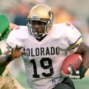 Rashaan Salaam is listed (or ranked) 1 on the list The Best Colorado Buffaloes Running Backs of All Time