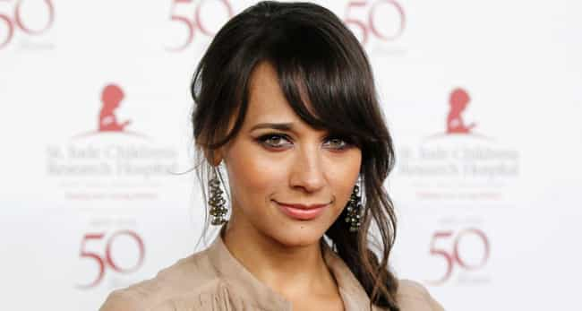 Rashida Jones is listed (or ranked) 3 on the list 50+ Celebrities Who Went to Harvard