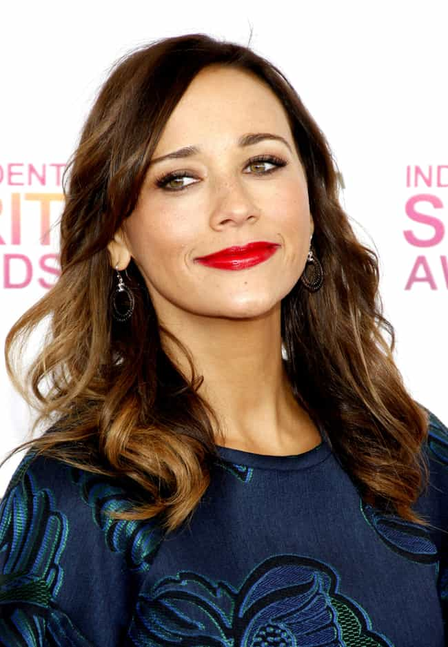 Rashida Jones is listed (or ranked) 3 on the list Famous People Who Are Allergic to Cats