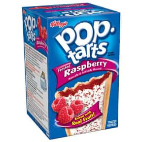 Raspberry Pop-Tarts is listed (or ranked) 11 on the list The Very Best Pop-Tart Flavors