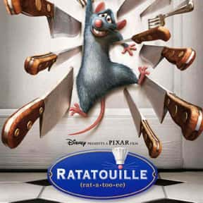 Ratatouille is listed (or ranked) 1 on the list The Best Movies About Cooking