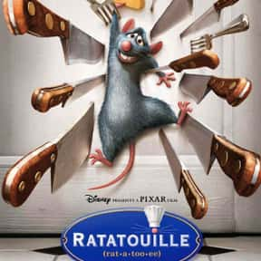 Ratatouille is listed (or ranked) 8 on the list The Greatest Animal Movies Ever Made