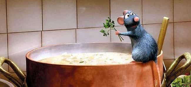 Ratatouille is listed (or ranked) 1 on the list The Best Cinematic Chefs Of All Time