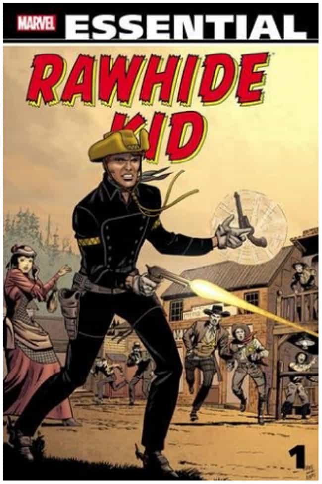 Rawhide Kid is listed (or ranked) 10 on the list 10 Important Gay Moments in Comic Book History