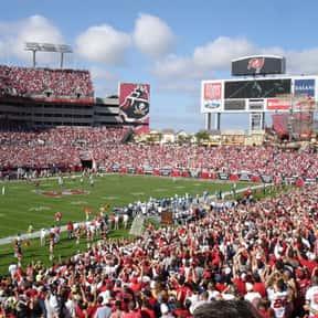 Raymond James Stadium is listed (or ranked) 18 on the list The Best NFL Stadiums