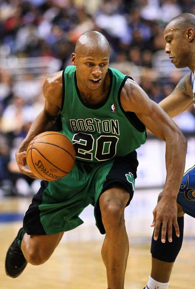 Ray Allen is listed (or ranked) 2 on the list The Best Three-Point Shooters in NBA History