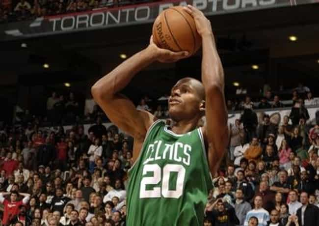 Ray Allen is listed (or ranked) 7 on the list The Most Clutch NBA Players Today