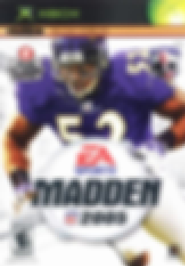 Ray Lewis is listed (or ranked) 4 on the list The Best Madden NFL Cover Athletes