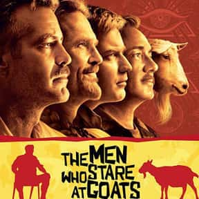 The Men Who Stare at Goats is listed (or ranked) 21 on the list The Best George Clooney Movies