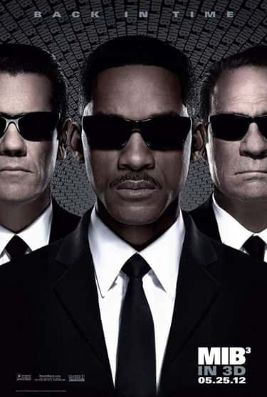 Men in Black 3 is listed (or ranked) 2 on the list All the'Men in Black' Movies, Ranked Best to Worst