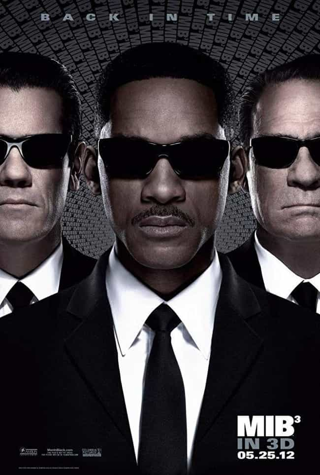 Men in Black 3 is listed (or ranked) 2 on the list All the 'Men in Black' Movies, Ranked Best to Worst