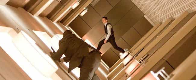 Inception is listed (or ranked) 1 on the list 10 Mind-Blowing Films Influenced By Dream Theory