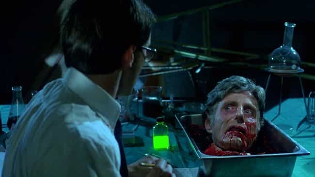 Re-Animator is listed (or ranked) 2 on the list The Most Horrifying Movies Inspired By H.P. Lovecraft