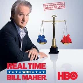 Real Time with Bill Maher is listed (or ranked) 23 on the list The Best Late Night Talk Shows of All Time