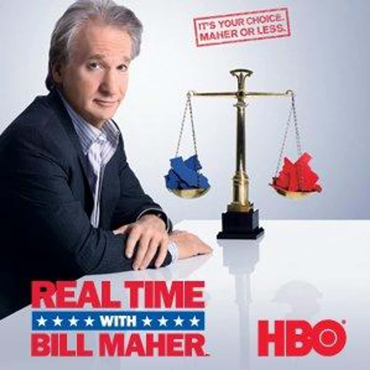 Real Time with Bill Maher is listed (or ranked) 4 on the list What to Watch If You Love 'Last Week Tonight with John Oliver'
