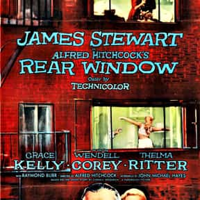 Rear Window is listed (or ranked) 3 on the list The Best Movies About Surveillance and Hidden Cameras