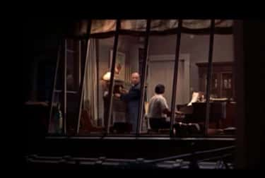 Rear Window is listed (or ranked) 2 on the list All Alfred Hitchcock Cameos