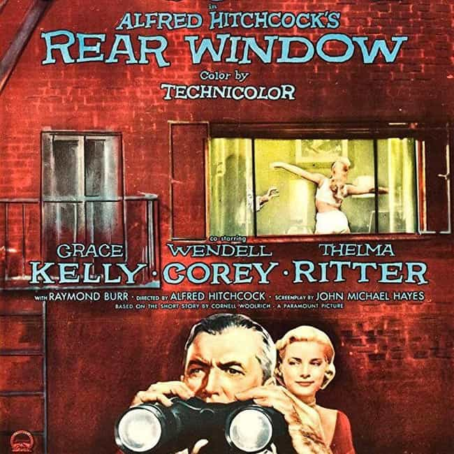 Rear Window is listed (or ranked) 4 on the list The Greatest Suspense Movies