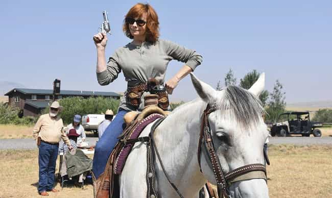 Reba McEntire is listed (or ranked) 4 on the list Country Singers Who Have Horses