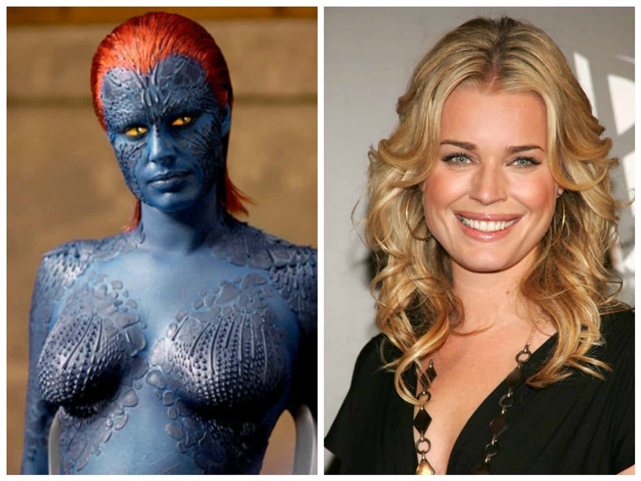 Rebecca Romijn is listed (or ranked) 1 on the list Where Are They Now? 30 Actors from Comic Book Movies
