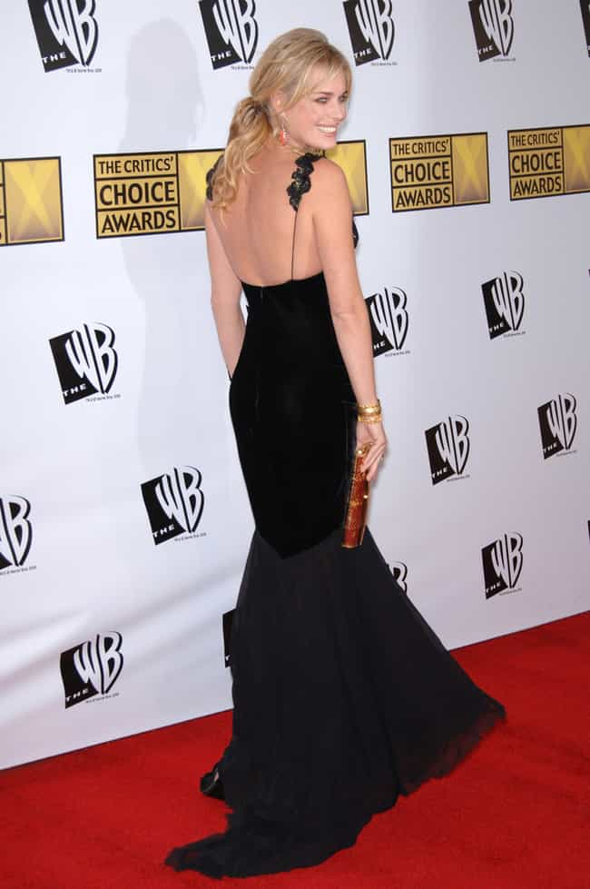Rebecca Romijn is listed (or ranked) 4 on the list 33 Famous People with Scoliosis