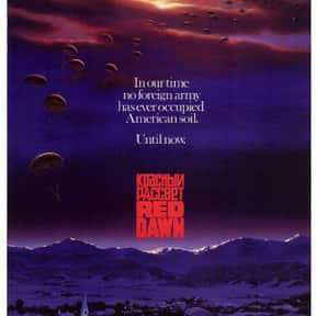 Red Dawn is listed (or ranked) 4 on the list The Best Cold War Movies
