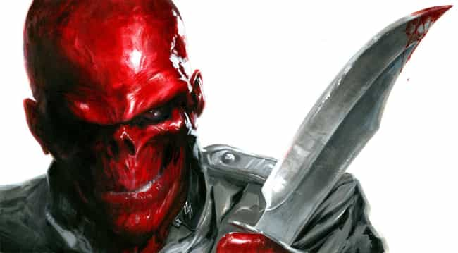 Red Skull is listed (or ranked) 1 on the list Captain America's Greatest Villains