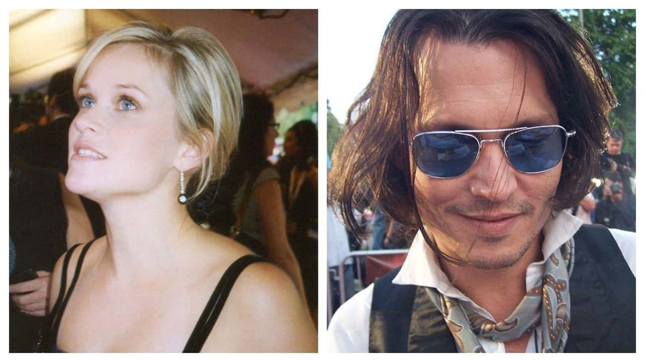Reese Witherspoon Loved Johnny Depp
