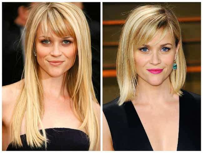 Reese Witherspoon is listed (or ranked) 2 on the list Celebrities Who Chopped Their Hair & Look Great