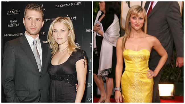 Reese Witherspoon is listed (or ranked) 1 on the list The Hottest Celebrity Breakovers