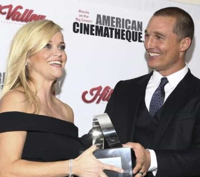 Reese Witherspoon is listed (or ranked) 3 on the list All American Cinematheque Award Winners
