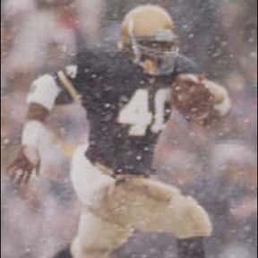 Reggie Brooks is listed (or ranked) 3 on the list The Best Notre Dame Fighting Irish Running Backs of All Time