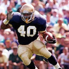 Reggie Brooks is listed (or ranked) 20 on the list The Best College Running Backs of the 1990s