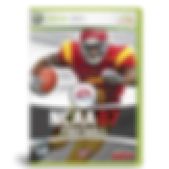 Reggie Bush is listed (or ranked) 16 on the list NCAA Football Cover Athletes