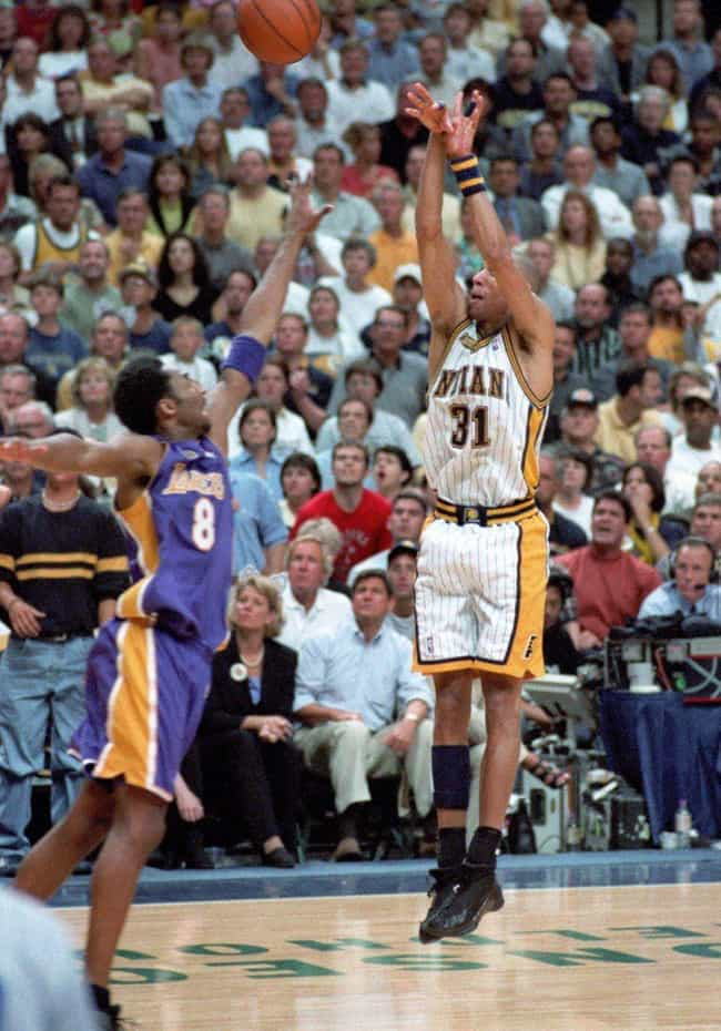 Reggie Miller is listed (or ranked) 4 on the list The Best Three-Point Shooters in NBA History